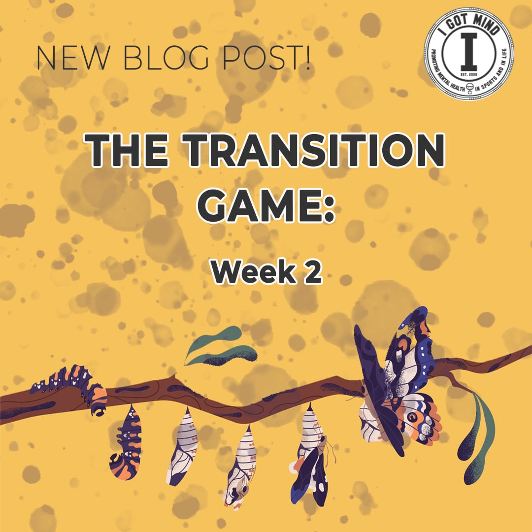 The Transition Game – Week 2