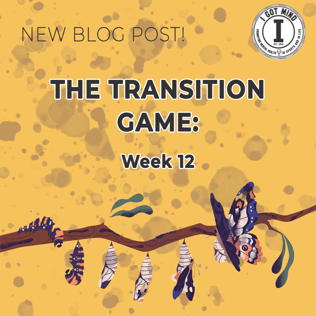 The Transition Game: Week 12